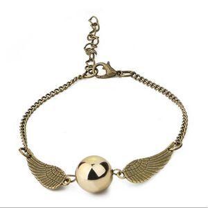 Harry Potter Golden Snitch Charm Bracelet